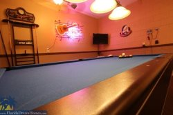 Fabulous Game Room with Pool Table, Foosball, Air Hockey, Pub Table and  TV