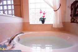 2 Master Baths with Large Soaking Tub and Walk in Shower
