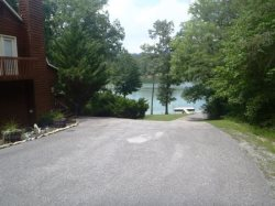 On Golden Pond lake access with private launch