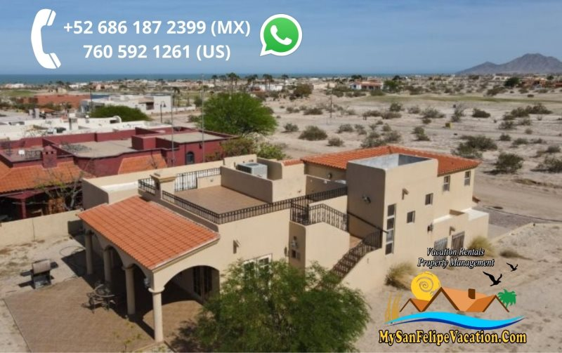 Casa talebi 3br el dorado ranch san felipe vacation rental for Casa rambler vs casa ranch