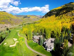 House with indoor pool on Vail Golf Course