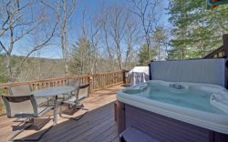Hot Tub Deck Area