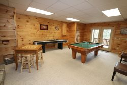 My Mountain Dream Vacation Cabin Game Room