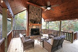 My Mountain Dream Vacation Cabin Fire Pit