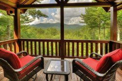 Luxury at the Settlement vacation cabin rental