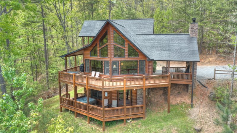 Aska lodge in blue ridge north ga cabin rental for 8 bedroom cabins in blue ridge ga