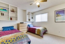 The perfect kids room with plenty of space - South Mission Beach, San Diego Vacation Home
