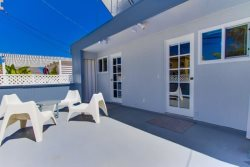 Private Deck is shared between two queen rooms in your home - South Mission Beach, San Diego Vacation Home