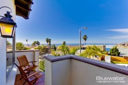 One of several exterior view balconies - La Jolla Vacation Rental