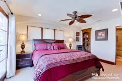 Master Suite II on 2nd level main floor with King bed, en-suite bath with shower  private ocean view balcony