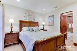 Master Suite III on 1st level with Queen bed, en-suite bath w tub\/shower combo