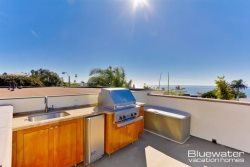 Viking BBQ, fridge and stainless sink - La Jolla Vacation Rental