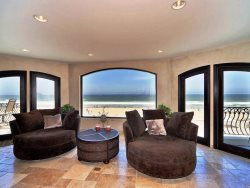 Ocean Views from Living Room Over San Diego Boardwalk