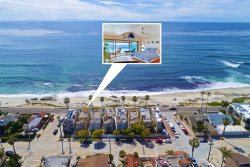 San Diego Vacation Rental - Ocean View, Jacuzzi and Fireplace