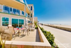 Mission Beach Vacation Rental on the Boardwalk