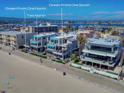 Bluewater Ocean Front I and II - Mission Beach Ocean Front Vacation Rental