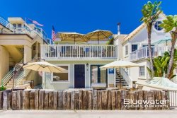 Lower level of this South Mission Beach vacation rental