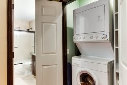 Inside washer and dryer - South Mission Beach Vacation Rental