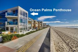 Ocean Front Vacation Rental Home on the Mission Beach Boardwalk