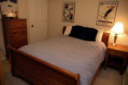 Master Bedroom with 2 Queens and a Twin Bed