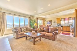 Living and Dining area  Powder Mountain Luxury home