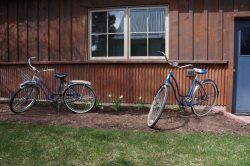 Vintage bikes for your use to cruise around town