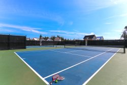 Make sure to pack your tennis racket on your next trip to Seabrook - 2 brand new tennis courts and pickle ball courts await in the Farm District