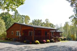 MY DEER CABIN-BEAUTIFUL 3 BEDROOM PET FRIENDLY CABIN WITH A GREAT CENTRAL LOCATION VERY CLOSE TO MERCIERS , WIFI, GAS LOG FIREPLACE, 3 FIRE PITS, GAME ROOM WITH POOL TABLE, AIR HOCKEY, DARTS, WII, GAMES, SLEEPS 6, FENCED IN YARD, STARTING AT $175/NIGHT