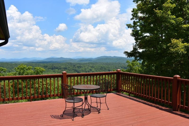 Tree tops million dollar view beautiful 3 bedroom 3 bath - 8 bedroom cabins in north georgia ...