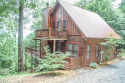 INTO THIN AYER- 2BR/2BA- CABIN WITH AN AWESOME MOUNTAIN VIEW SLEEPS 4, PET FRIENDLY, STACKED STONE FIREPLACE, WIFI, AND GAS GRILL! STARTING AT $123/NIGHT!