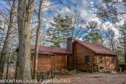 ANGLER`S REST- ADORABLE 2BR/1BA CABIN WITH A BREATHTAKING MOUNTAIN VIEW, PET FRIENDLY, WOOD BURNING FIREPLACE, HOT TUB, GAS GRILL, STARTING AT $99 A NIGHT!