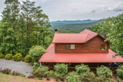 BEAR NECESSITIES- 5BR/3BA- LUXURY CABIN SLEEPS 14, GORGEOUS MOUNTAIN VIEWS, INDOOR AND OUTDOOR FIREPLACES, POOL TABLE, PING PONG, WIFI, HOT TUB! STARTING AT  $300 A NIGHT!