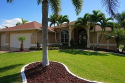 Huge 4 Bedroom Pool Home on Gulf Access in SE Cape Coral