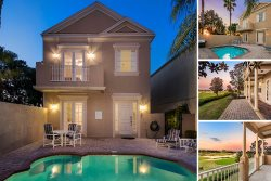 Legacy Getaway | 4 Bed Pool Villa Boasting Panoramic Views of the Legacy Golf Course