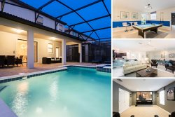 Champions Paradise | 8 Bed Luxury Villa with South Facing Pool, Movie Theater and Games Area