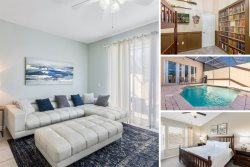 Windsor Estate | 3 Bed Townhome Newly Furnished with Private Screened Pool