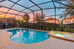 Windsor Escape | 5 Bedroom Pool Home with Theme and Game Rooms