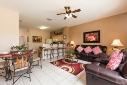 Hills Palace | Beautiful Upgraded Townhome with a South Facing Pool & Mickey Mouse Bedroom