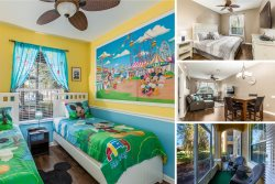 Tropical Treasure | Ground Floor Condo with 2 King beds, Mickey Mural in Kids Room & More