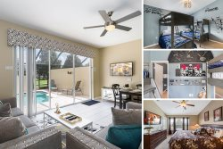 Windsor Magic | Upgraded Magical Townhome with Private Screened Splash Pool