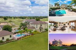 Reunion View Point | Luxury 4 Bed Villa with Large Pool, Custom Kitchen & Deck Located on the Palmer Golf Course