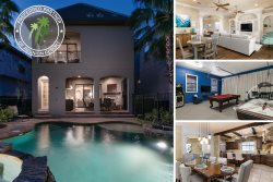 Signature Villa | South Facing Pool, Outdoor Summer Kitchen, Star Wars Theme Room & Games Room with Golden Tee Arcade