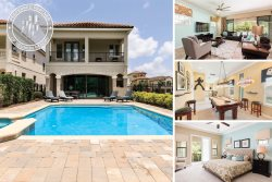 Southern Exposure | Gorgeous Villa  South Facing Pool, Extended Deck, Summer Kitchen & Firepit, Disney Themed Rooms, & 2 Games Rooms