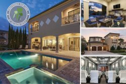 Muirfield Estate | 8,000 sq. ft. Ultimate Luxury Villa with West Facing Pool, Summer Kitchen, Theater Room, Games Room with Arcade Games