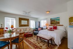 NEW Large, Light Studio Granny Flat 50 yards from Ocean In North Mission Beach
