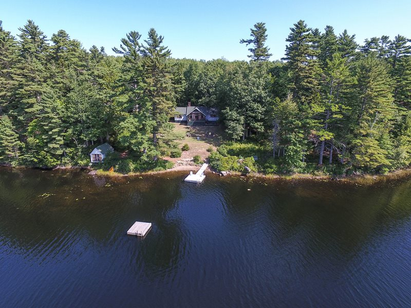 Pitcher Pond Cottages On The Water In Maine Vacation Rental Property