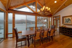 Luxurious Lake Burton Rental with Private Boat Dock