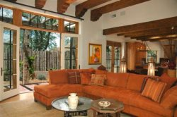 Casa Gabriella - 7 Fireplaces + 7 French Doors = Fire and Light