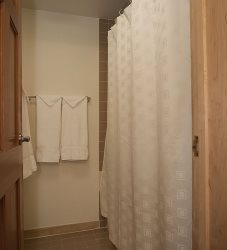 Shower -- Area Separate from Vanity
