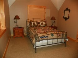 Upstairs Bedroom One Queen Bed